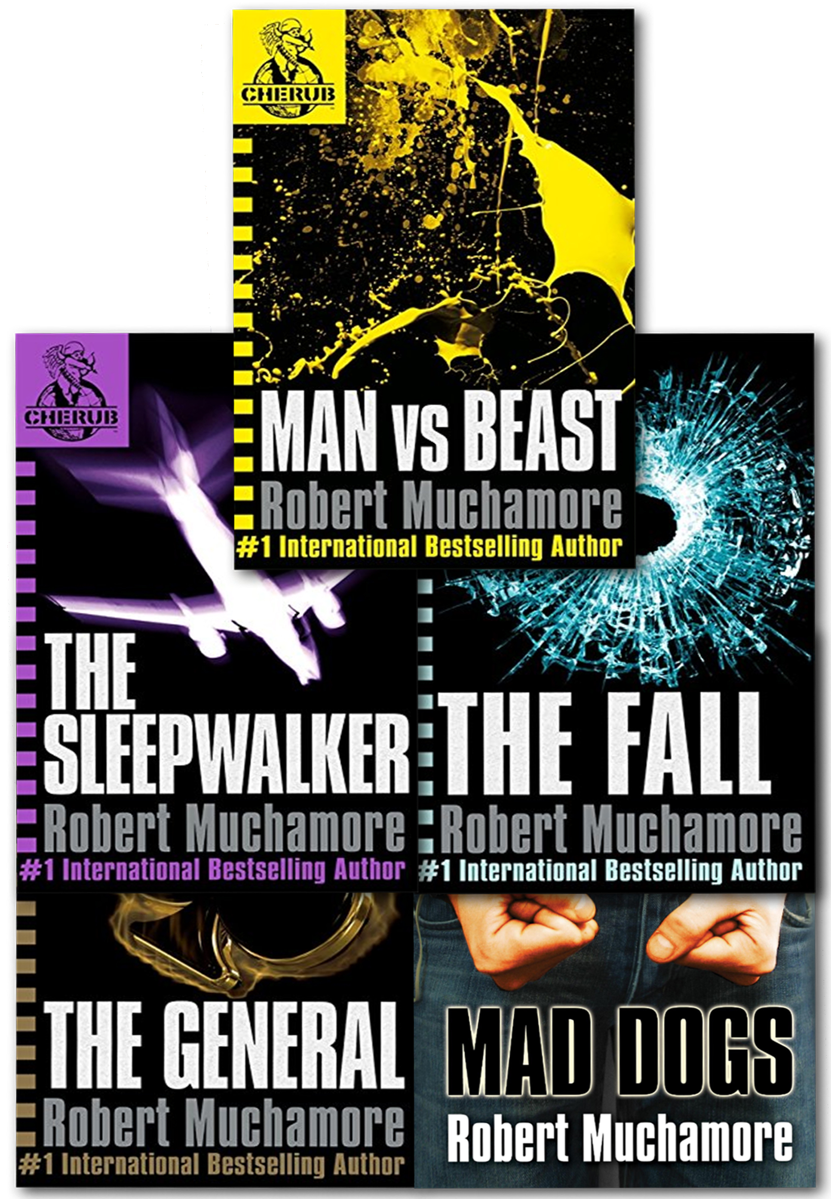 Cherub Series 2 Collection Robert Muchamore 5 Books Set ...
