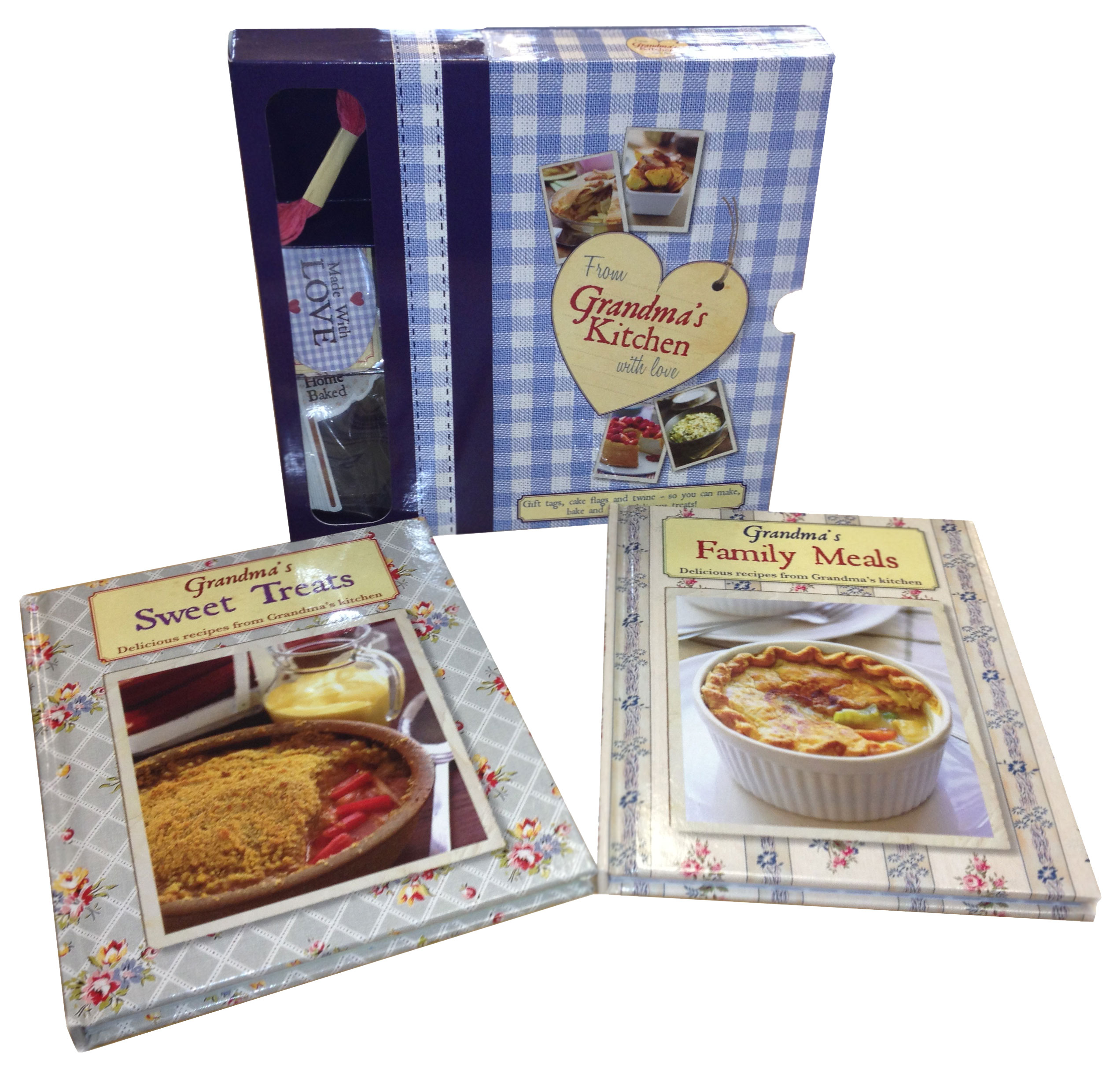 Grandmothers Kitchen: From Grandma's Kitchen With Love Slipcase 2 Book Set