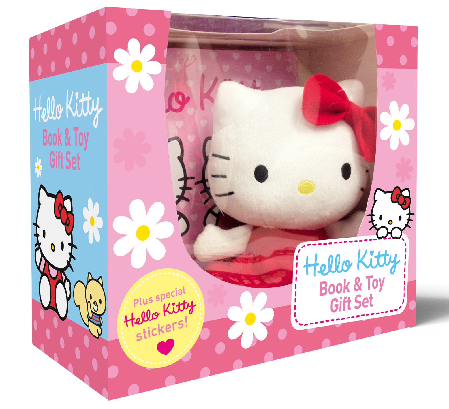 Hello Kitty Toys Set : Hello kitty best friends book and toy gift set with