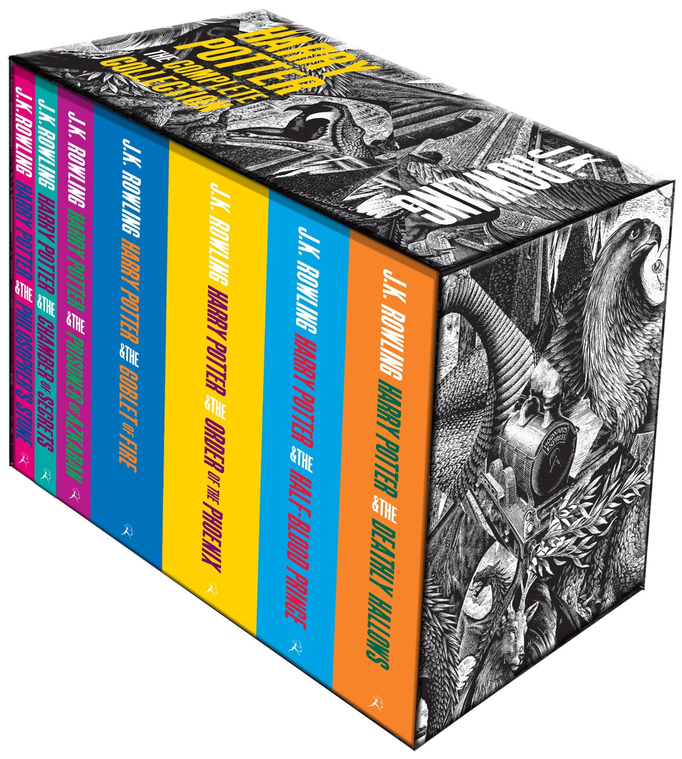 Harry Potter Book Collection Hardback ~ Harry potter the complete collection books set box