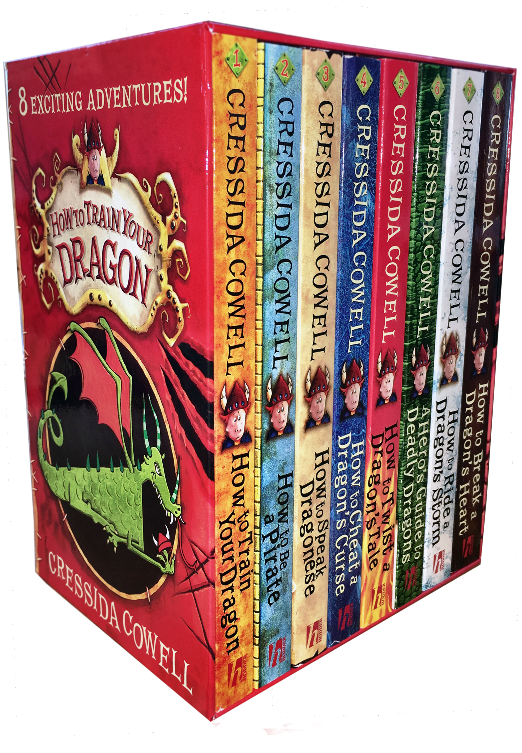Hiccup How to Train Your Dragon 8 Books Collection Set