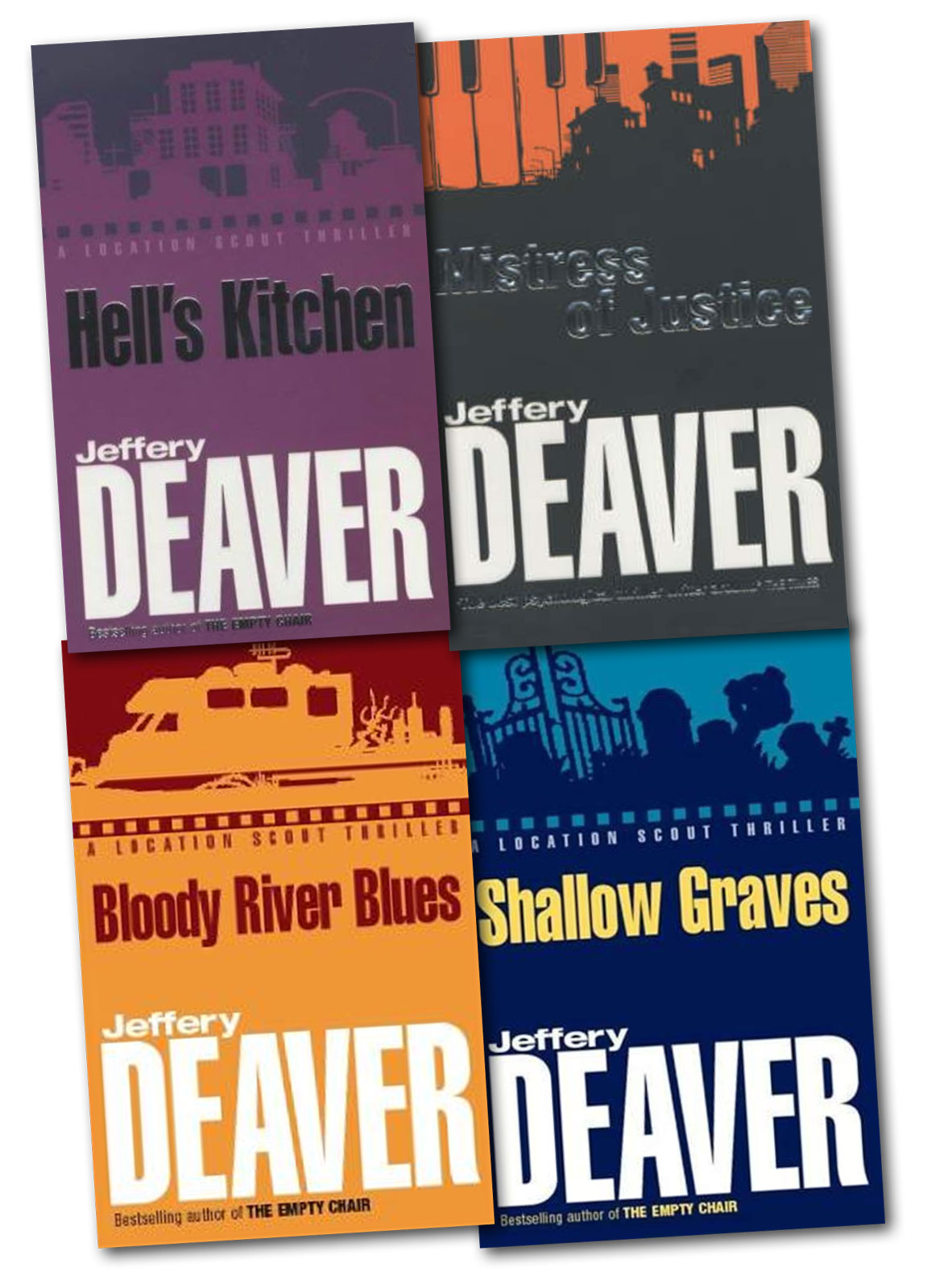 A Location Scout Thriller Collection 4 Books Set Jeffery