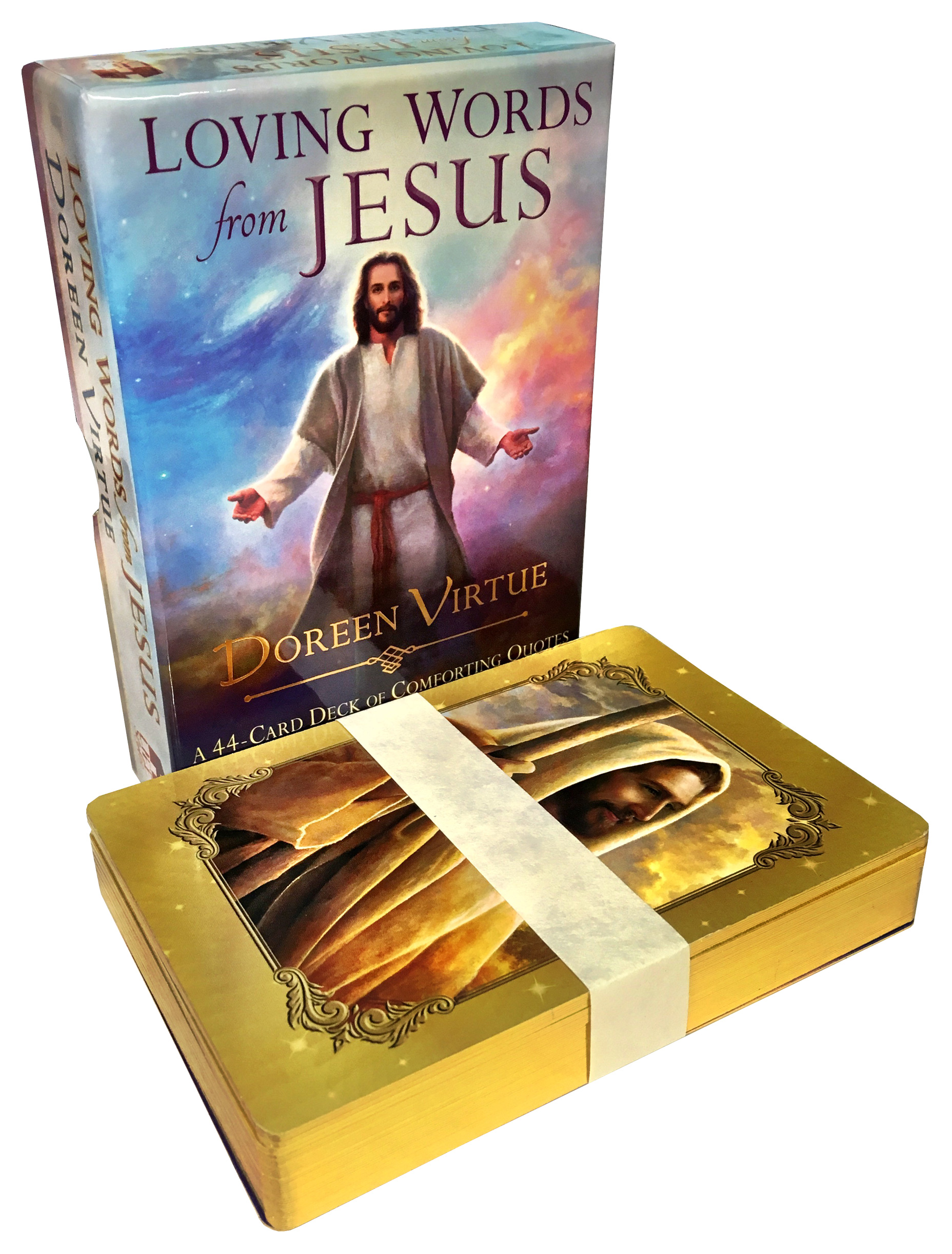 Loving Words From Jesus Tarot Cards Deck Comforting Quotes