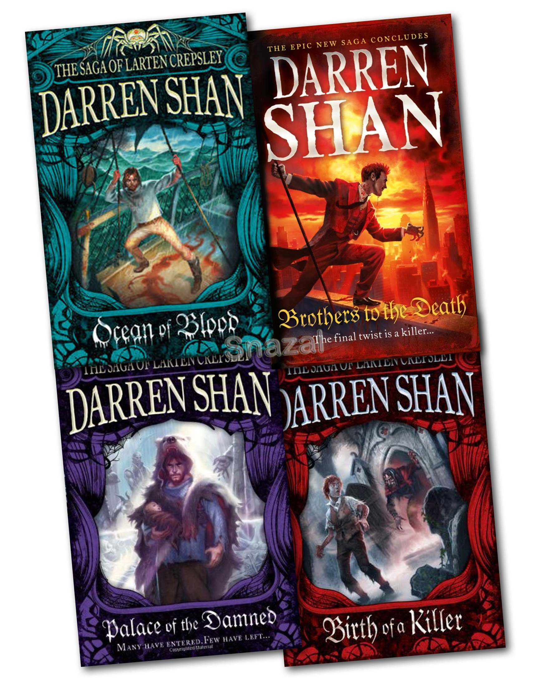 darren shan Darren shan's real name is darren o'shaughnessy although he is irish, he was in fact born in london his family moved back to ireland when darren was 6 years old.