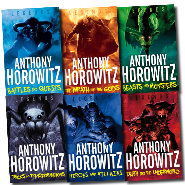 Anthony Horowitz Legends Series 6 Books Collection Pack
