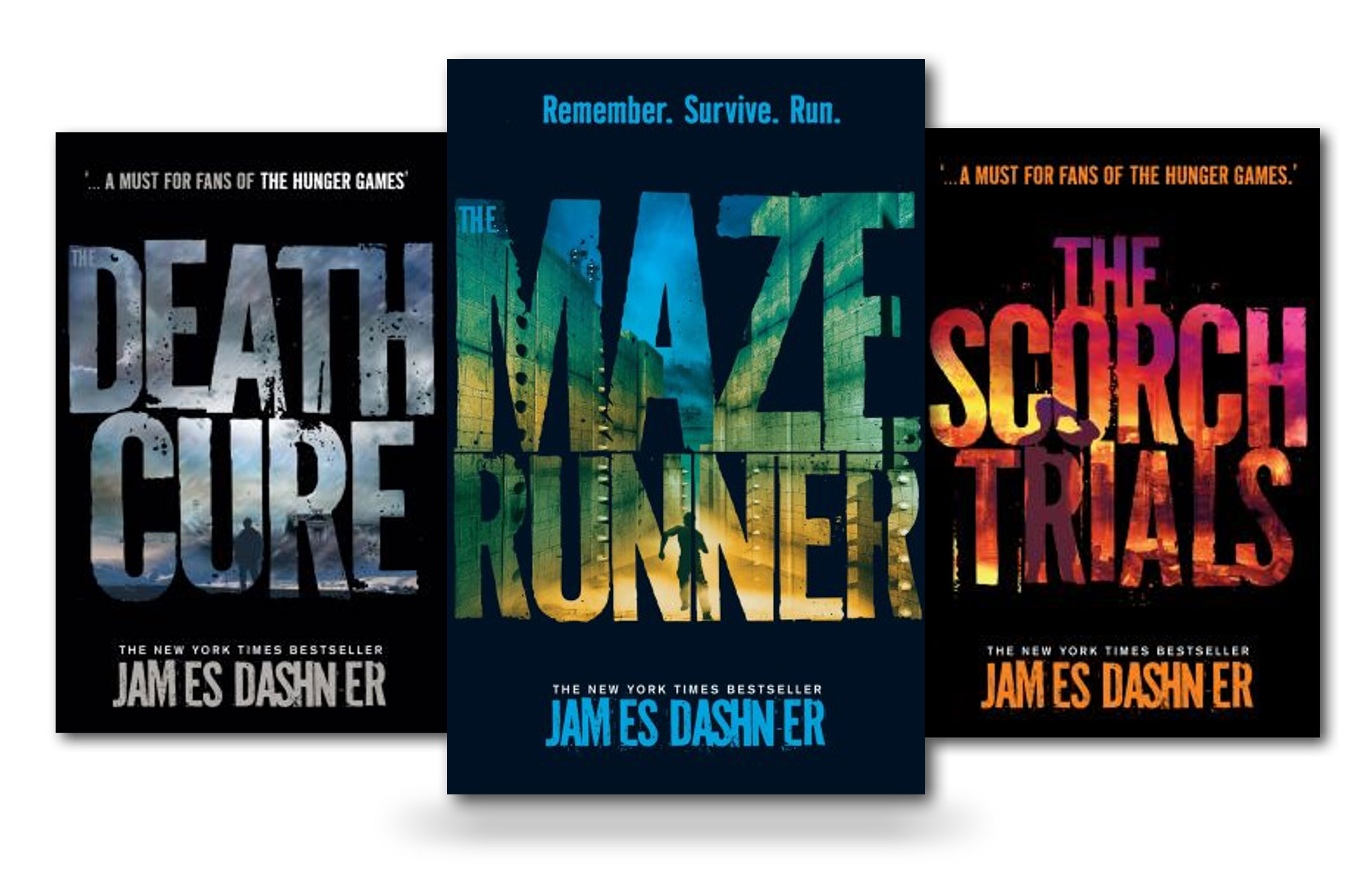 Book Cover Series Games ~ The maze runner trilogy collection set