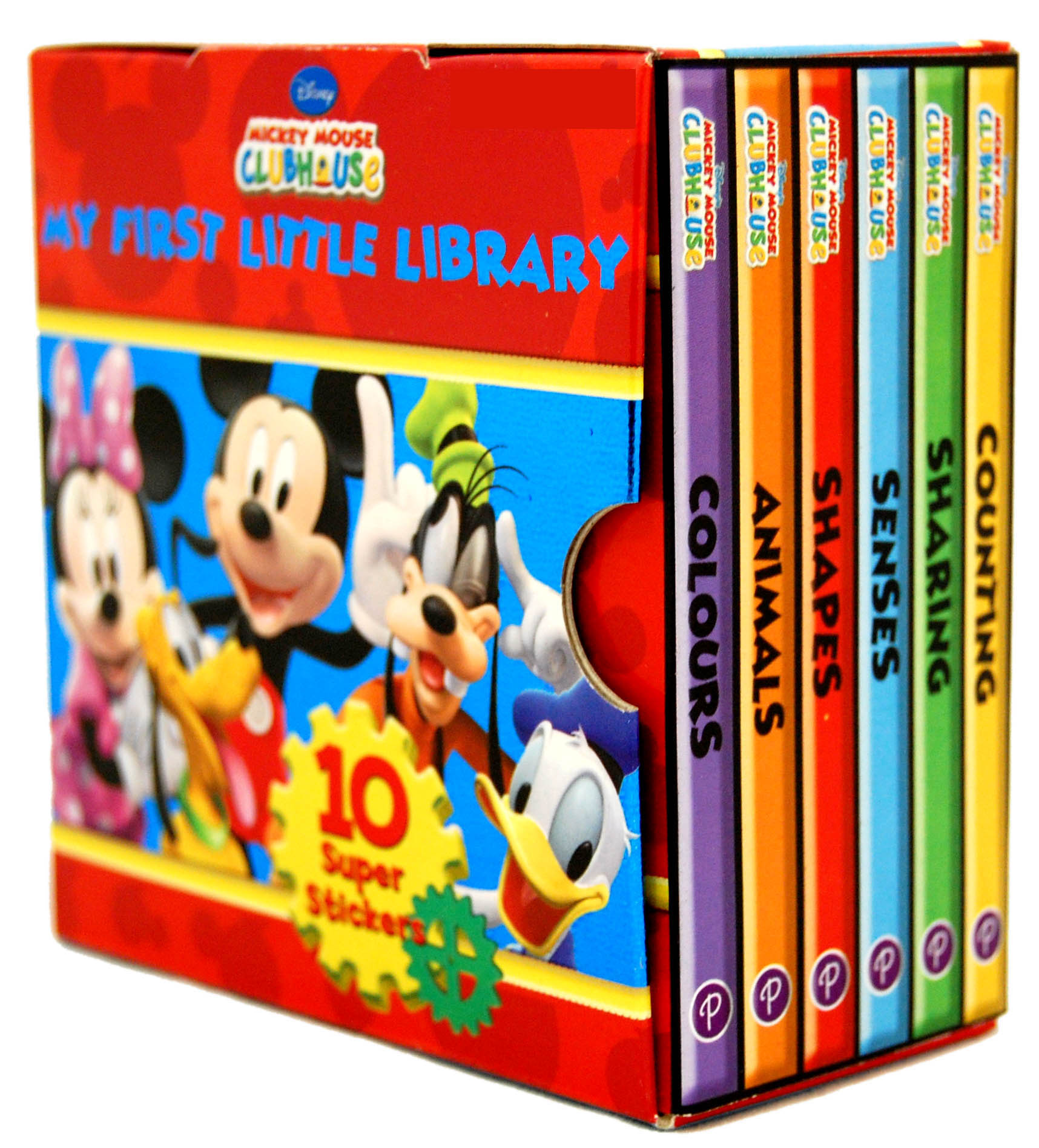 disney mickey mouse clubhouse little library 6 books collection set