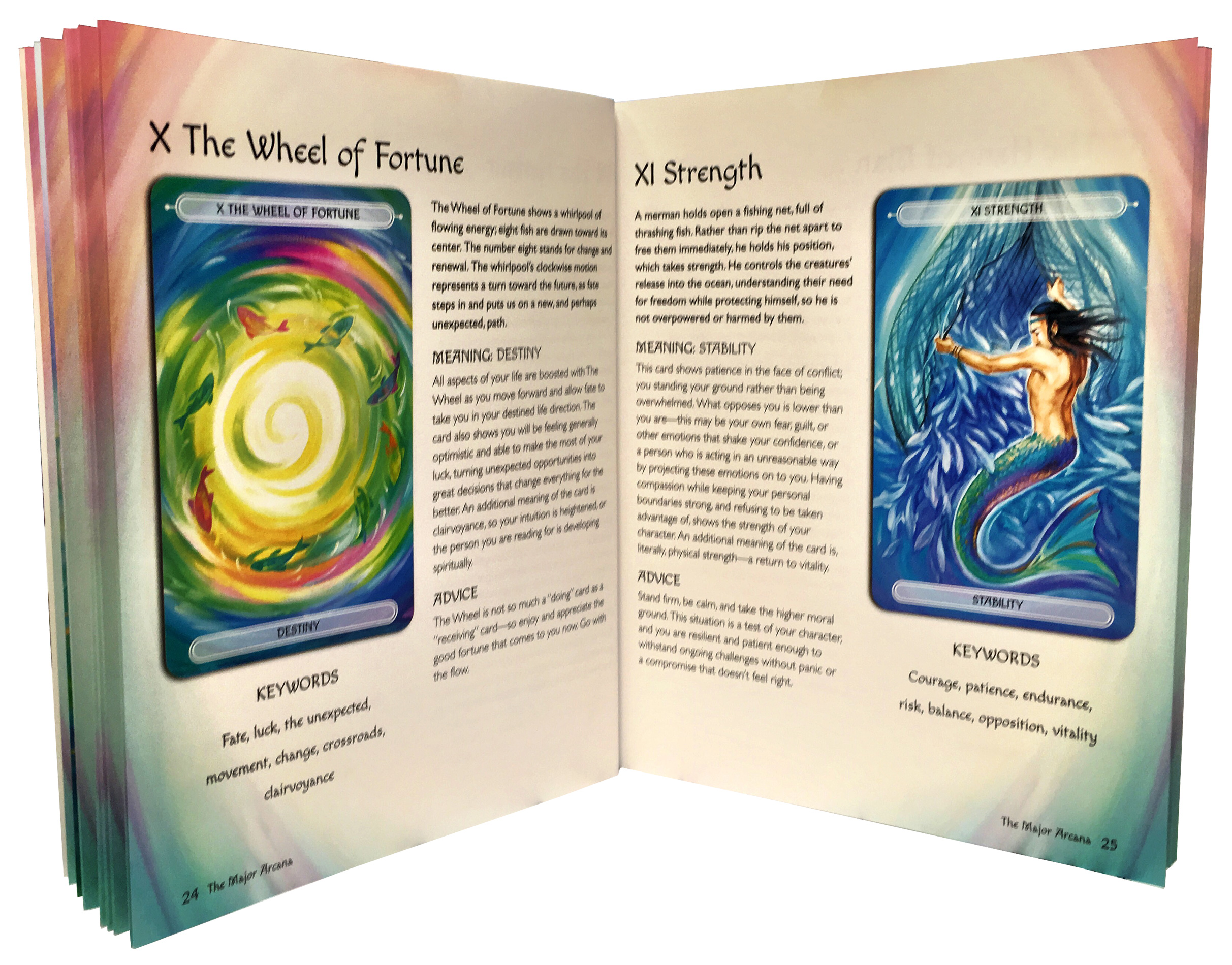 Oceanic Tarot Deck Cards Collection Box Gift Set Mind Body
