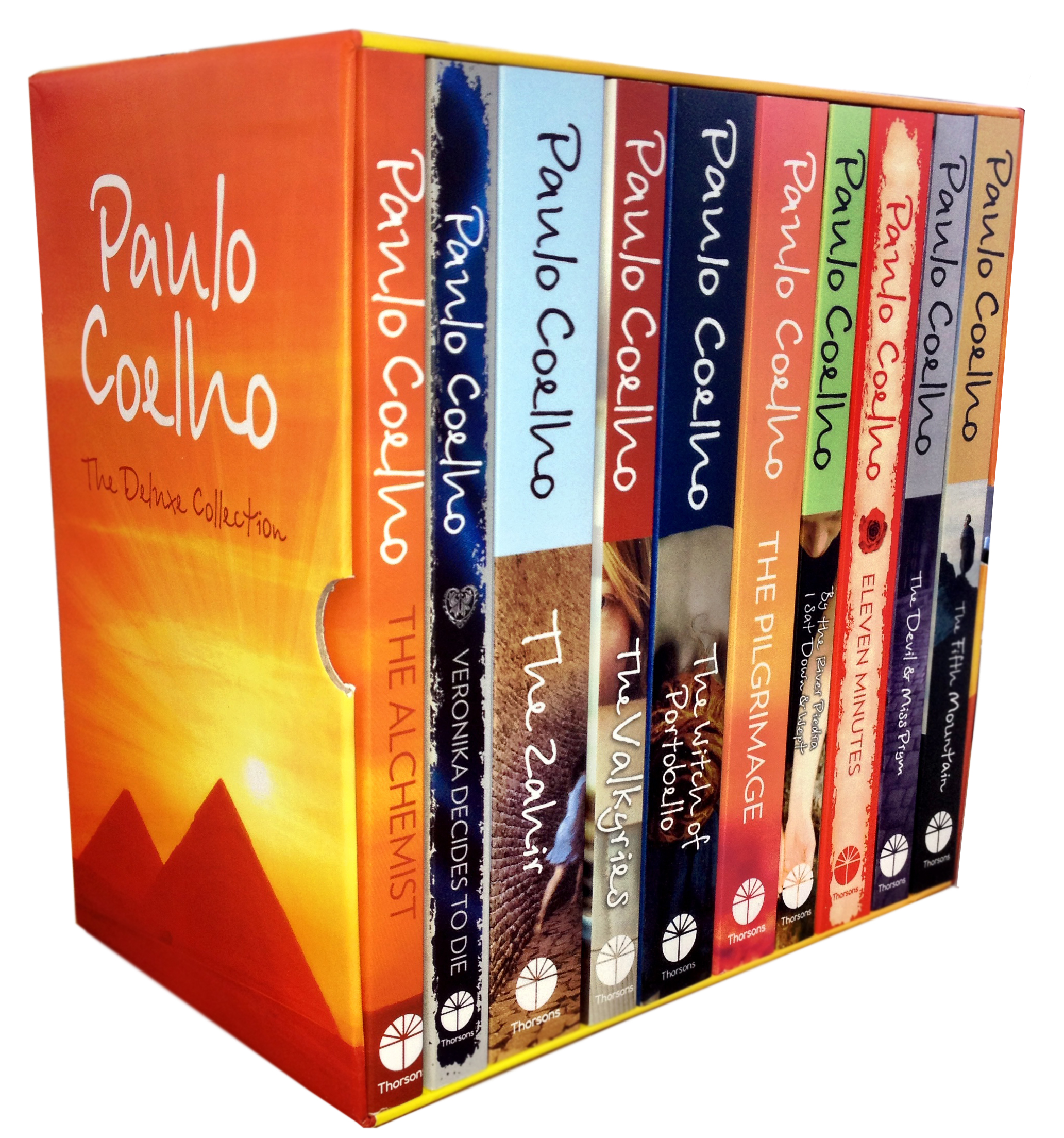 paulo coelho the deluxe collection books box set pack alchemist paulo coelho the deluxe collection 10 books set