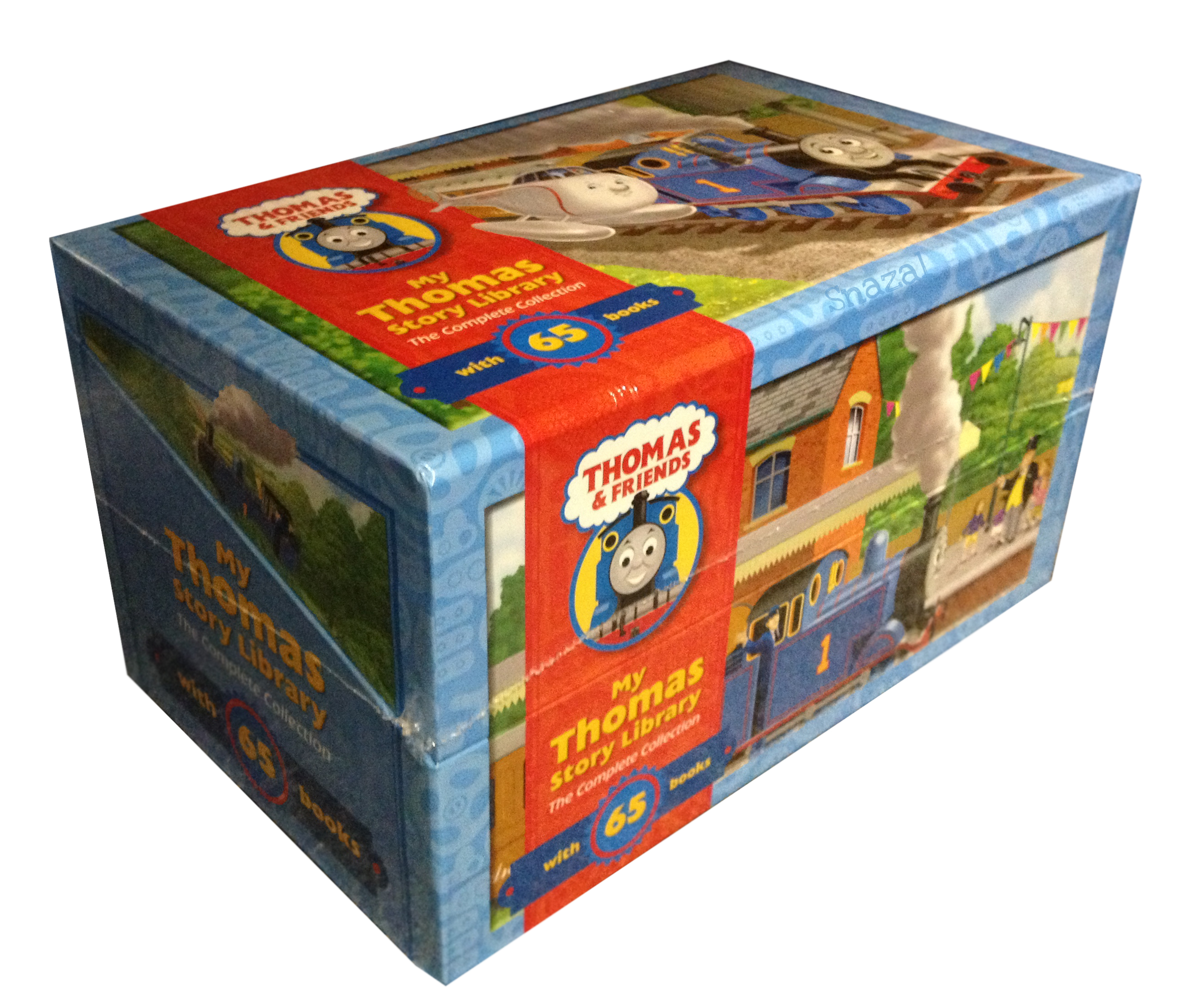 Details about thomas friends collection 65 books boxed gift set