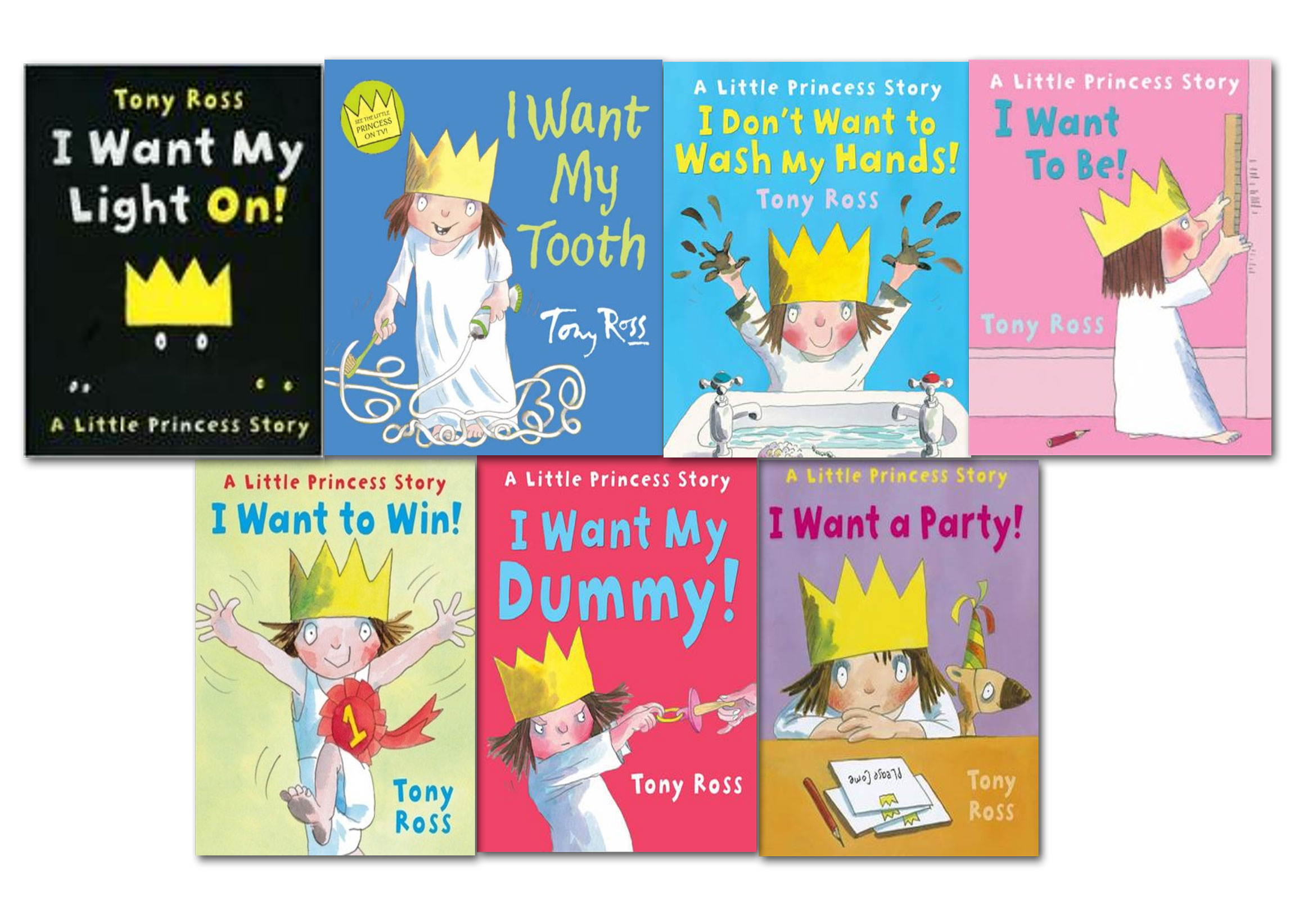 A Little Princess Story Collection Tony Ross 10 Books Set ... |Little Princess Book