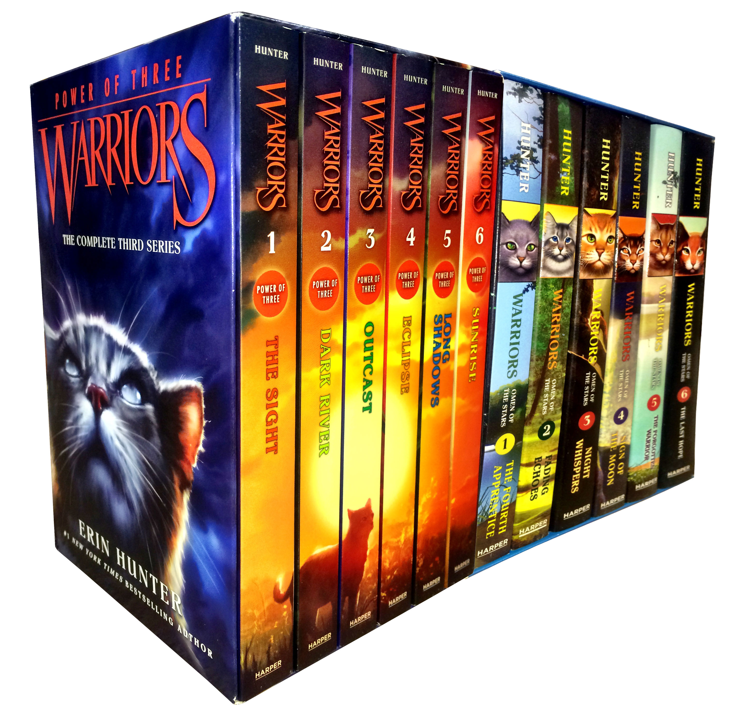 Warriors Book Series Quizzes: Warrior Cats Collection Erin Hunter 12 Books Set Power Of