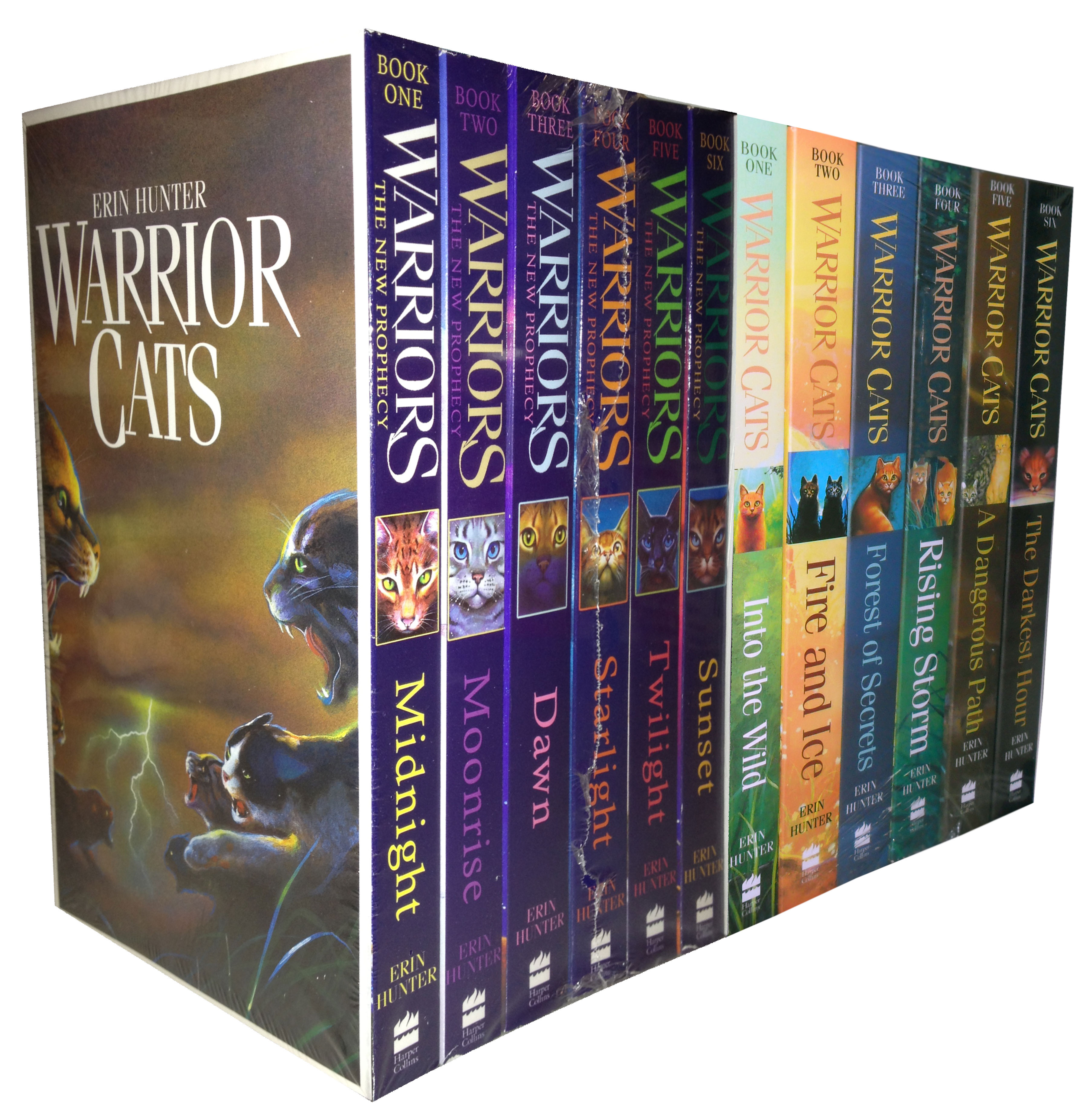 Warriors Book Series Quizzes: Warrior Cats Collection Erin Hunter 12 Books Set The New