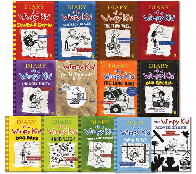 Diary of a wimpy kid book series how many have you read solutioingenieria