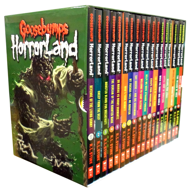 6 HORROR Age 9-12 FRIGHT TIME Monsters GOBLINS! Ghosts SPINE TINGLERS Werewolf +