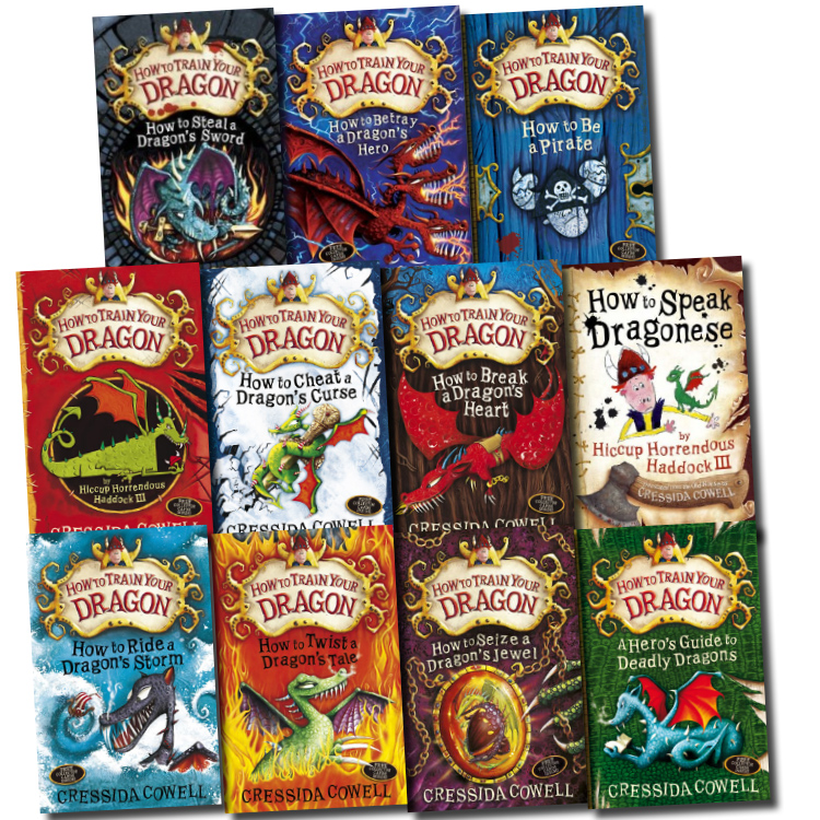 Hiccup How to Train Your Dragon 11 Books Collection Set Betray a