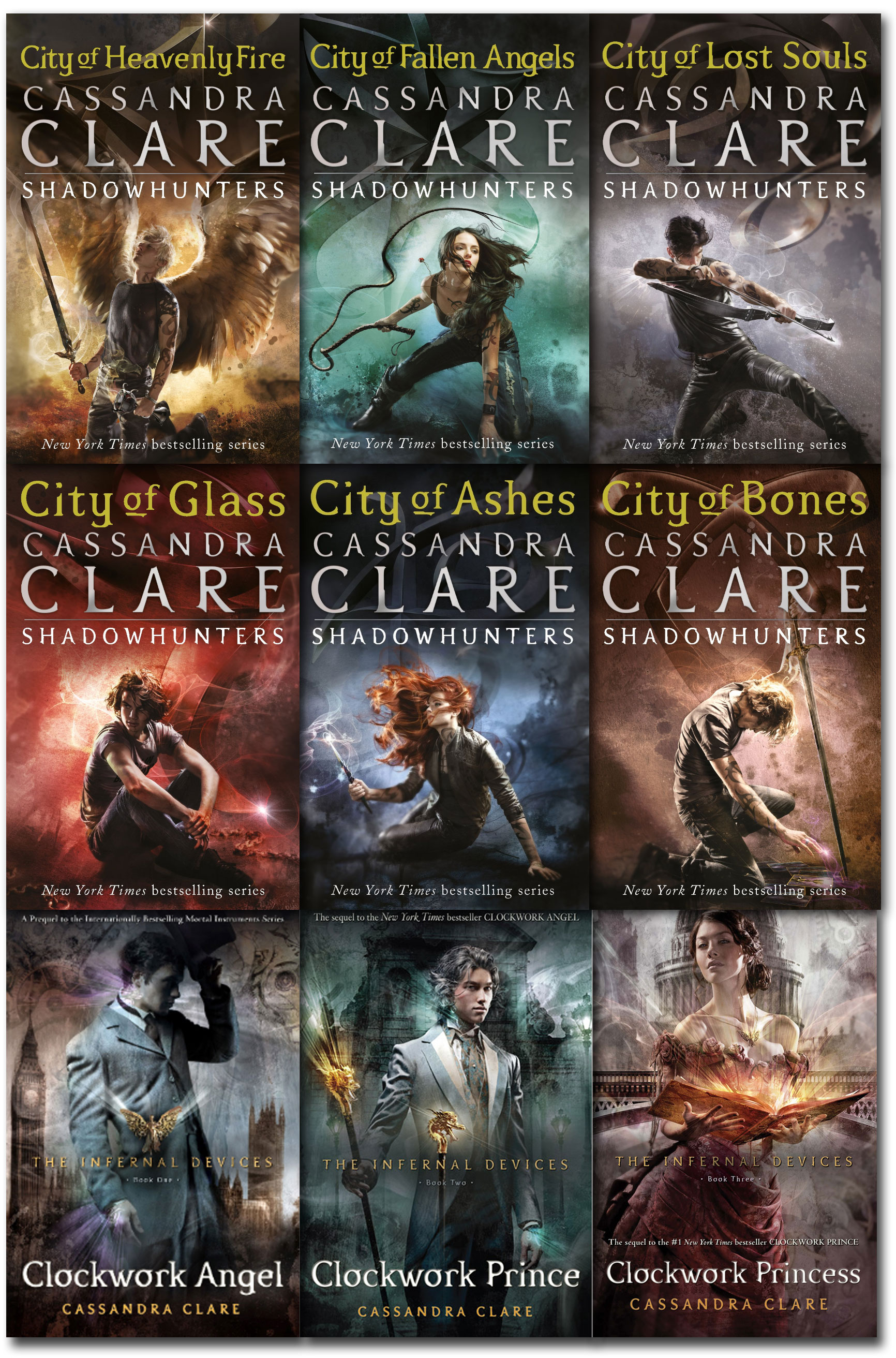 the mortal instruments books - 969×1000